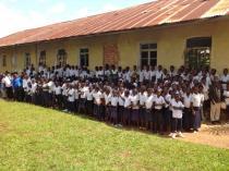 Inauguration du centre de documentation de Kasangulu (avril 2014) © IFADEM