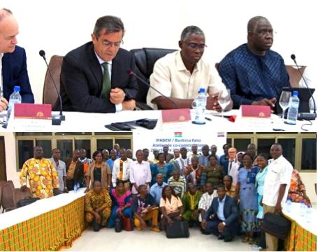 Séminaire de co-construction Ifadem-Burkina Faso ©IFADEM