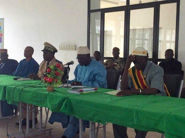 Discours du Ministre lors du lancement de la formation des enseignants au Mali ©IFADEM