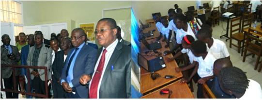 Réunion du comité national et inauguration de l'espace numérique de Kipushi (RDC)