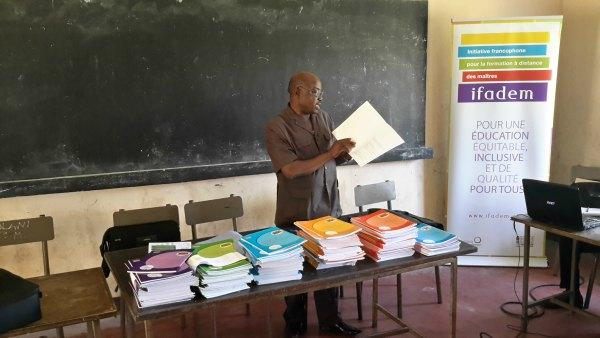 IFADEM-Togo : atelier de formation des tuteurs ©IFADEM